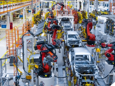 automotive manufacturing assembly line